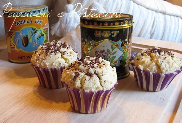 Muffin Mandorle e Cacao