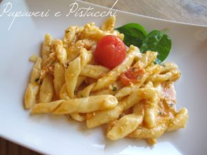Busiate con pesto Trapanese