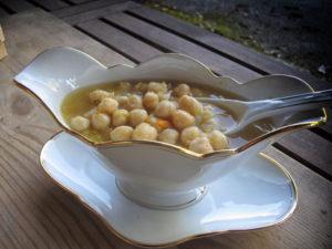 Zuppa di Ceci in Pentola a Pressione