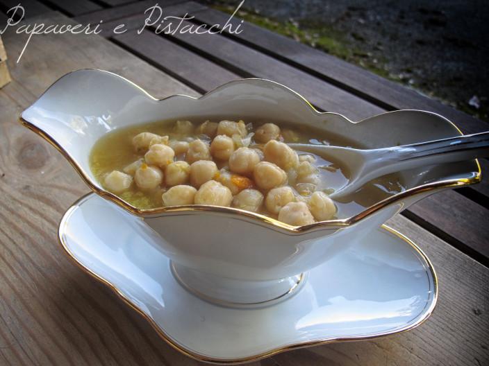 Zuppa di Ceci con Pentola a Pressione