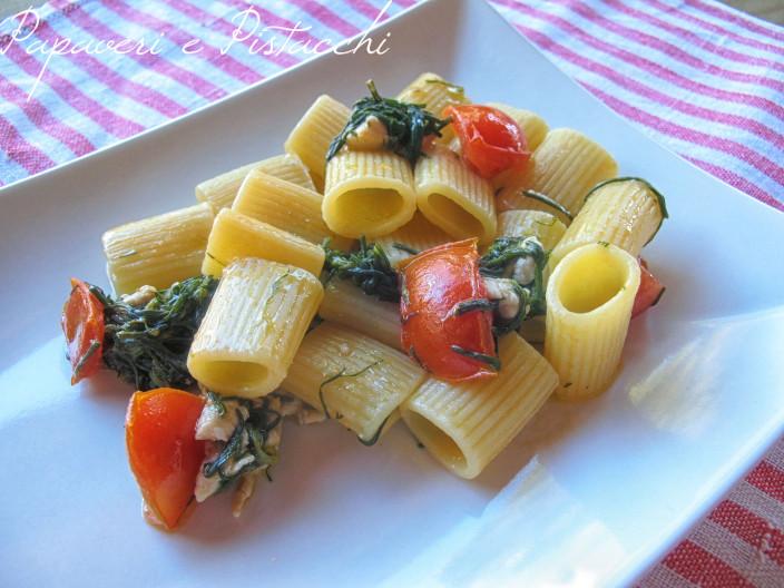 Mezze Maniche Rigate con Agretti