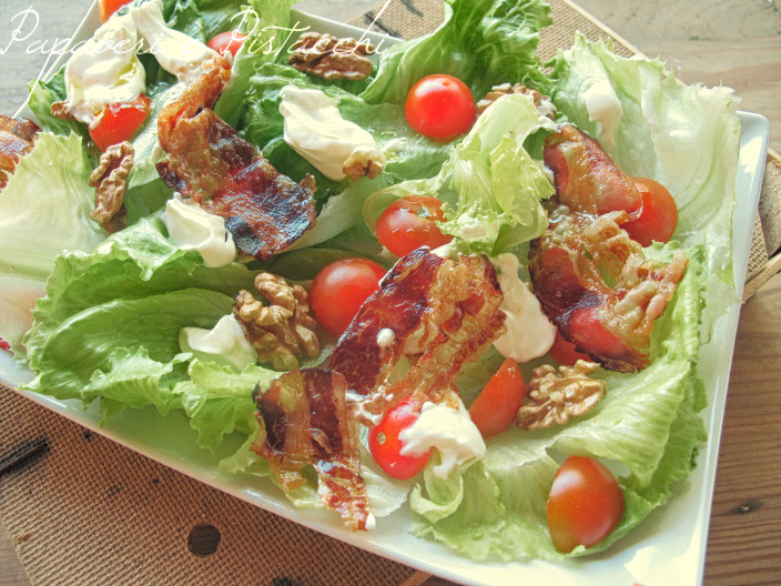 Insalata Bacon Noci e Yogurt Greco