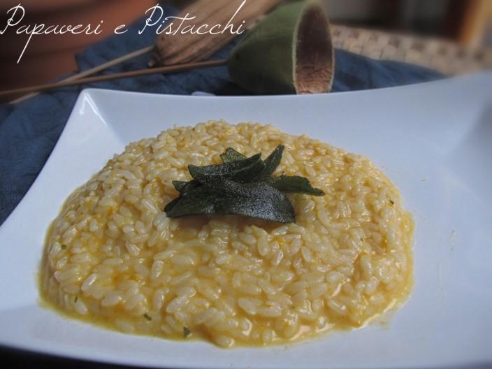 Risotto alla Zucca con Caciocavallo DOP e Salvia Croccante